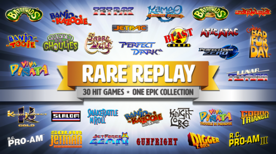 Vers des jeux en plus pour la collection Rare Replay ?
