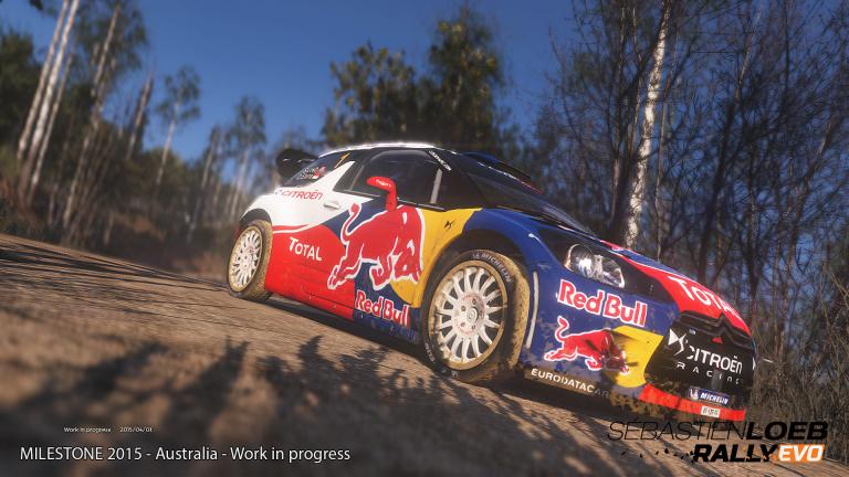 Sébastien Loeb Rally Evo repoussé à 2016