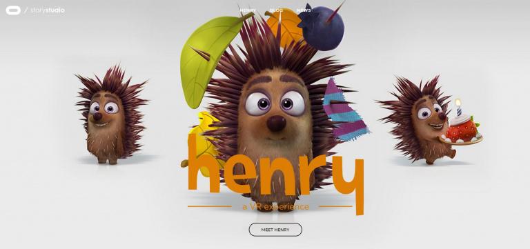Oculus veut réinventer le cinéma et présente en vidéo Henry, son premier court métrage !