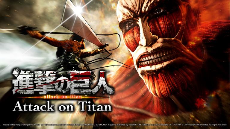 Attack on Titan, la Terre tremble enfin : TGS 2015