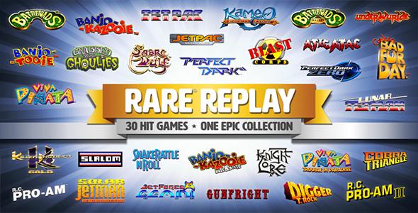 Rare Replay : Une compilation de qualité, c'est Rare !