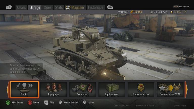 World of Tanks, le jeu de tank passe la nouvelle génération