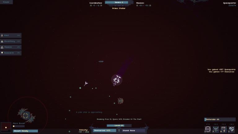 Des messages poétiques dans l'espace