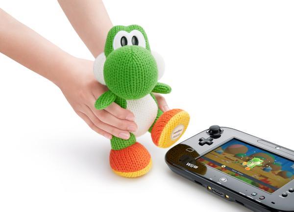 amiibo : Le méga Yoshi de laine sortira le 27 novembre