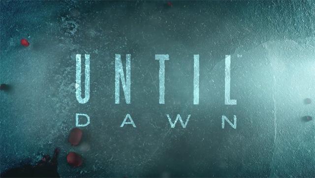 Until Dawn : La PlayStation 4 fait des siennes
