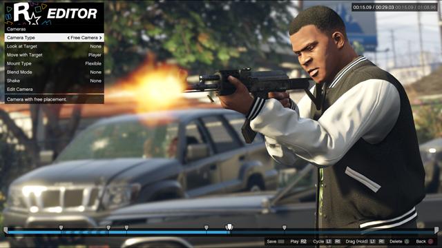 GTA 5 : De nouvelles features pour le Rockstar Editor sur PS4, Xbox One et PC