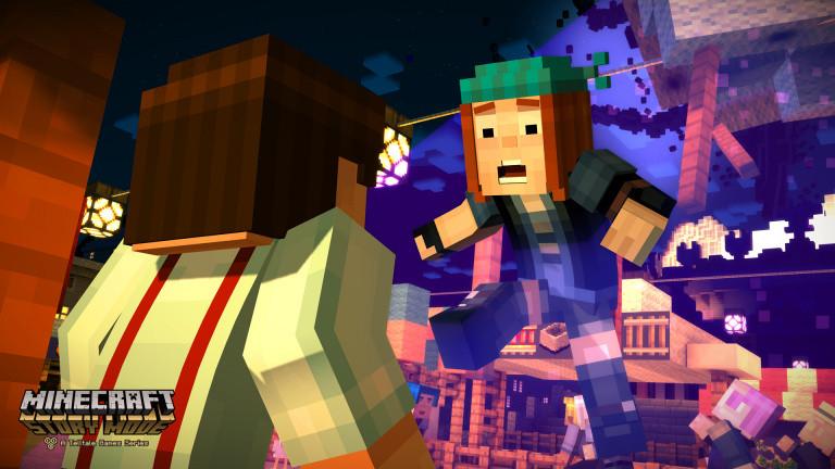 Minecraft Story épisode 4, les premières minutes de gameplay (Spoil)