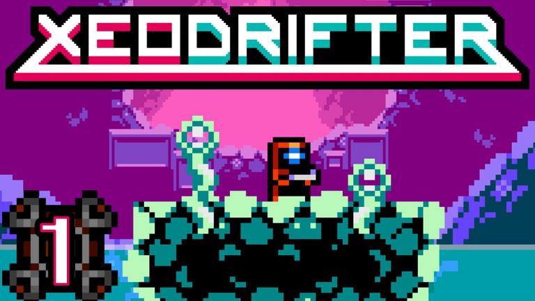Xeodrifter dérive sur Playstation 4 et Playstation Vita