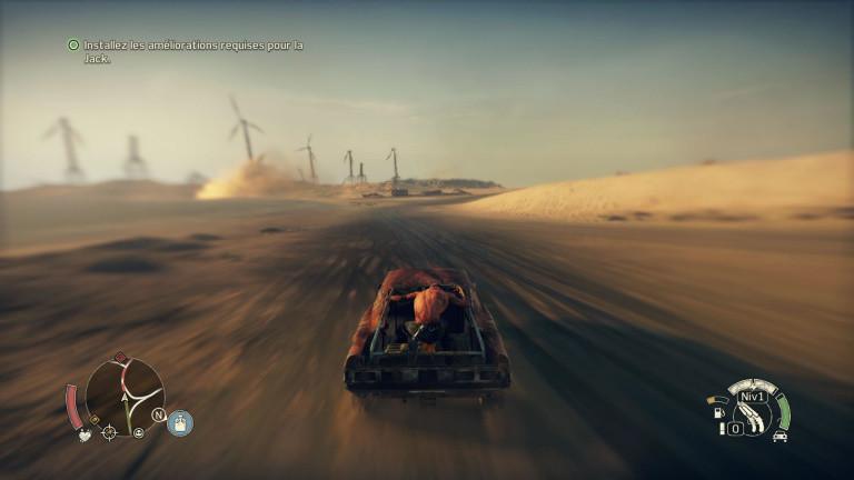 Mad Max : Un immense terrain de jeu post apo vous attend