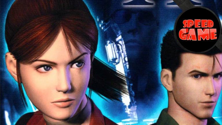Speed Game - Resident Evil Code Veronica X en classique... et à une main !