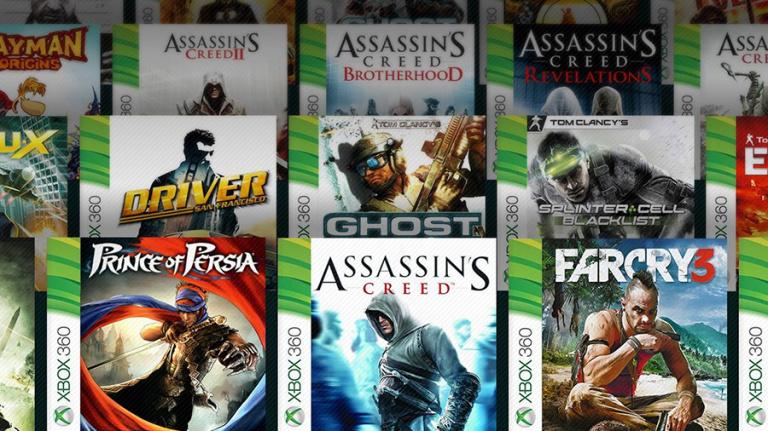 Rétrocompatibilité Xbox : Ubisoft tease la rétrocompatibilité de ses titres sur One