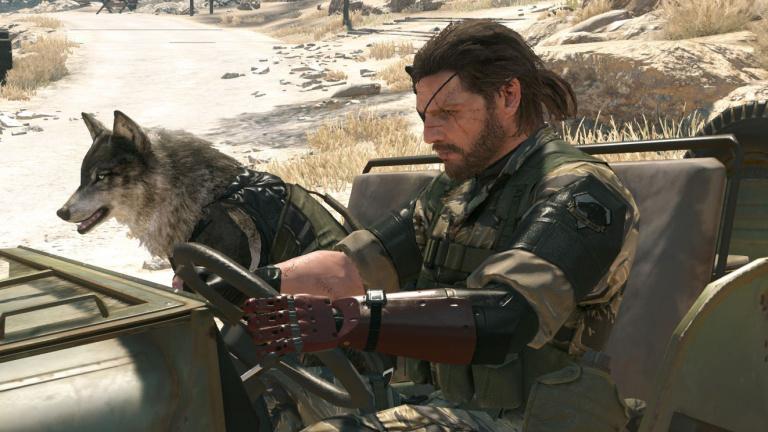 Metal Gear Solid V The Phantom Pain : Modding visuel et options graphiques cachées