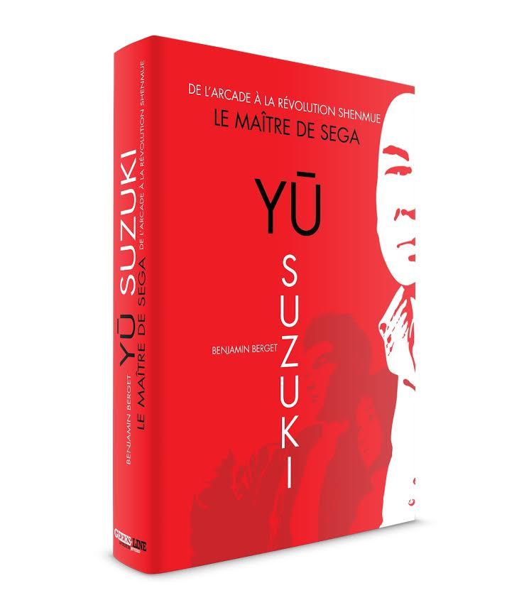 Un ouvrage francais dédié à Yu Suzuki disponible le 25 septembre