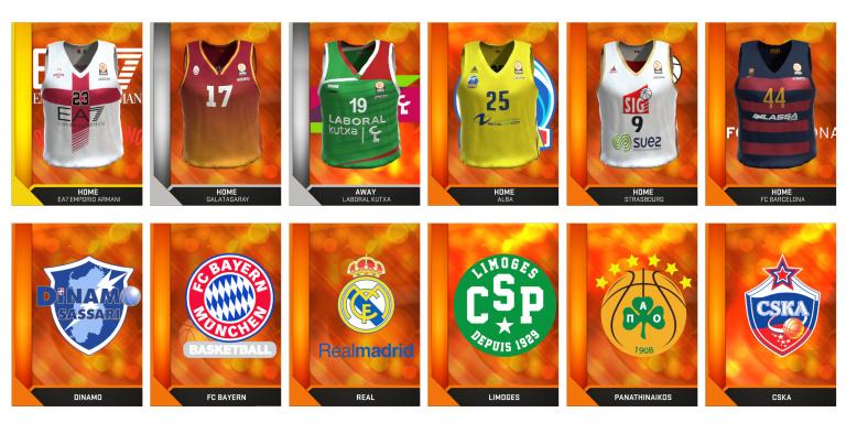 NBA 2K16 : Les équipes d'Euroligue annoncées et illustrées