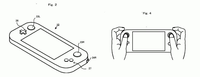 """NX : Nintendo brevette un nouvel appareil """"portatif"""""""