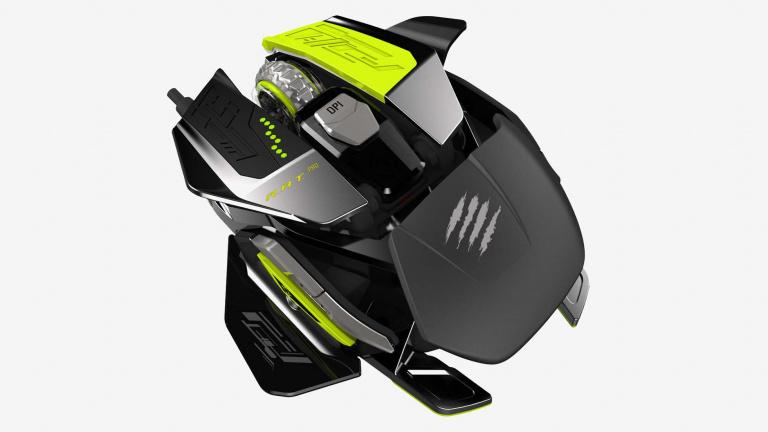 Mad Catz lance la commercialisation de sa nouvelle souris, la RAT Pro X