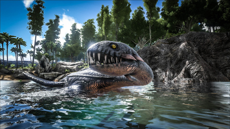 ARK : Survival Evolved - Un univers enneigé au rendez-vous