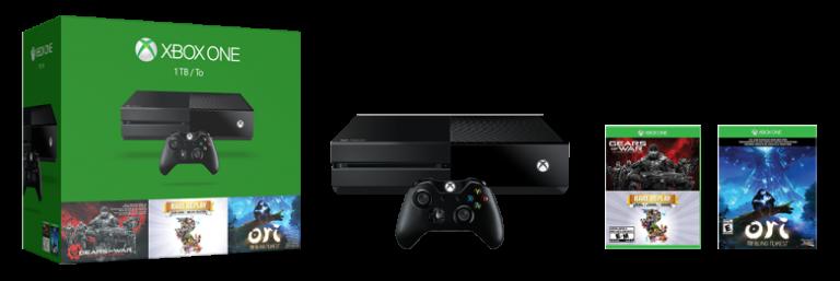 Xbox One : Un nouveau bundle à 399 € pour les fêtes