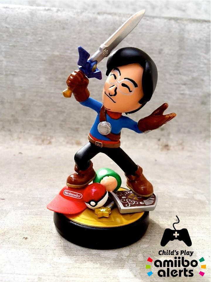 Un amiibo Satoru Iwata aux enchères pour la bonne cause