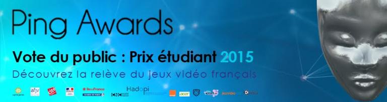 Ping Awards 2015 : Votez pour le prix étudiant !