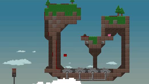 Les développeurs teasent Super Meat Boy sur Wii U