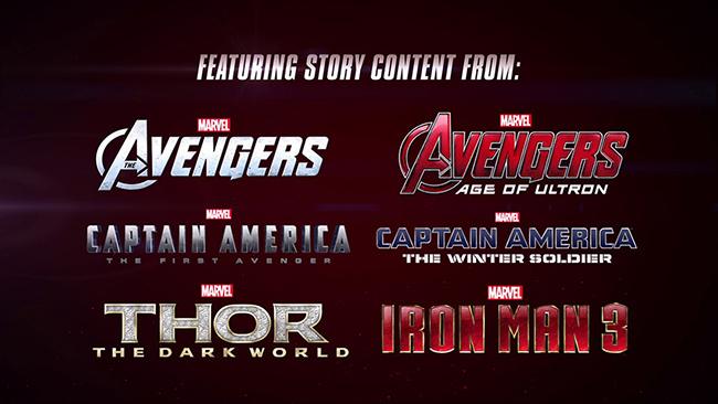 LEGO Marvel's Avengers : un jeu, six films