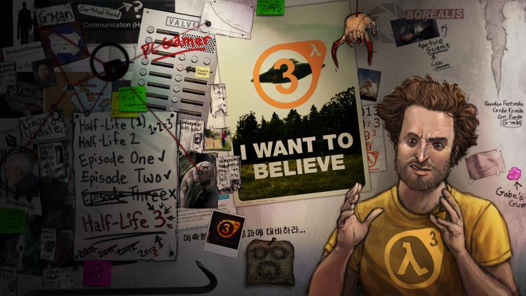 Le nouveau troll de Valve sur Half-Life 3