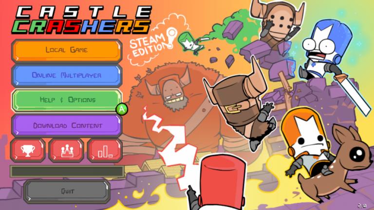 Une grosse mise à jour pour Castle Crashers sur Steam