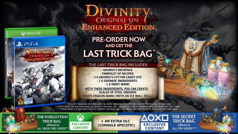 Divinity Original Sin : Enhanced Edition détaille ses précommandes