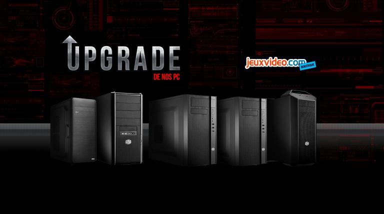 Les PC de la boutique Jeuxvideo.com s'offrent une mise à jour de leurs configurations