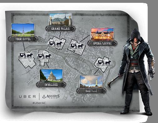 Assassin's Creed Syndicate : un tour de calèche offert par Ubisoft et UBER