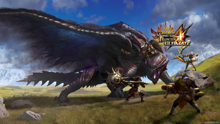 Monster Hunter 4 Ultimate : 4 millions d'exemplaires écoulés
