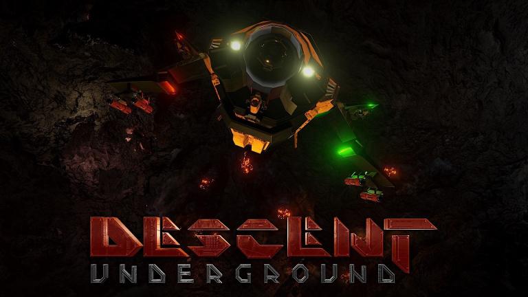 Descent : Underground lance son Early Access pour les donateurs