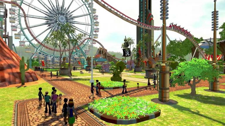 Rollercoaster Tycoon World en bêta le 30 octobre