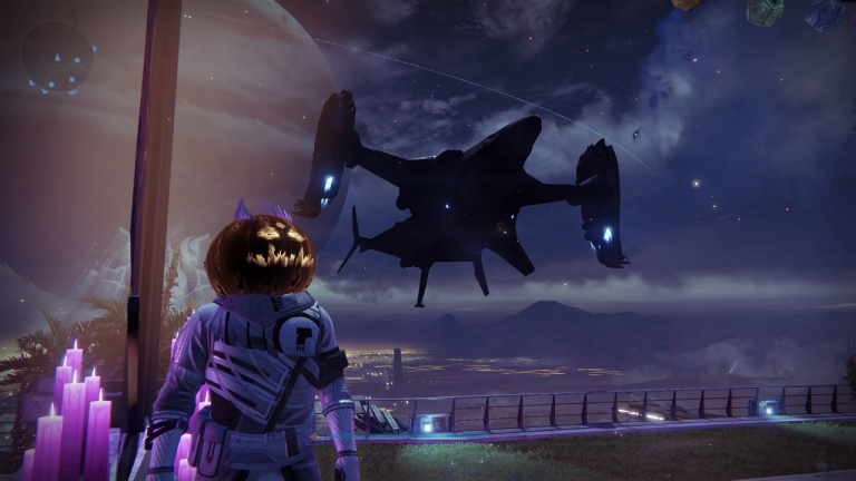 Destiny fête Halloween