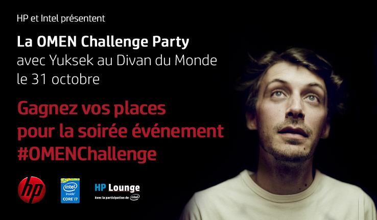 Résultats du concours OMEN Challenge Party