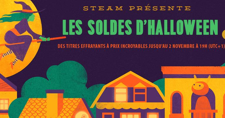[MàJ] Steam lance ses soldes pour Halloween
