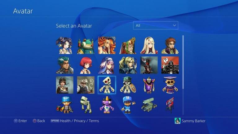 Les avatars bientôt en vente sur Playstation 4