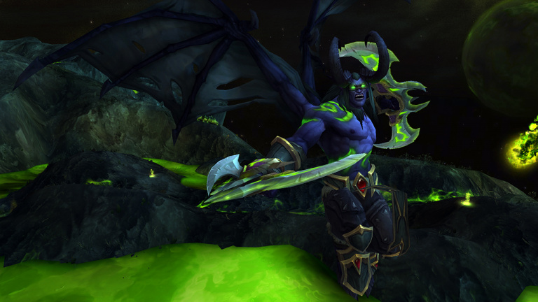 Aper u du jeu blizzcon 2015 wow legion on a test le chasseur de d mons - World of warcraft sur console ...
