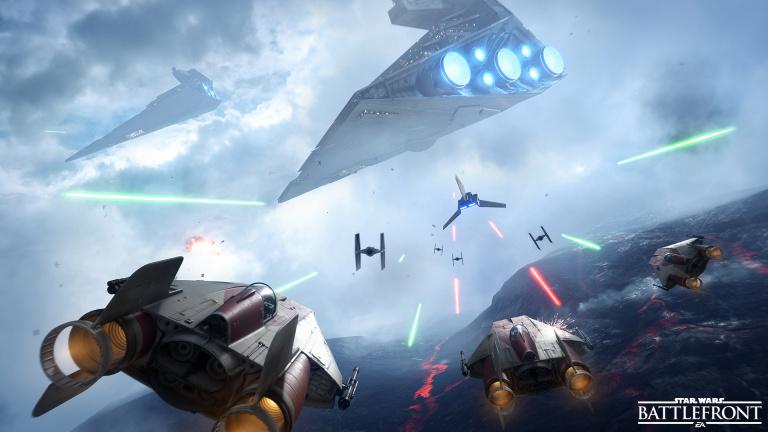 Star Wars : Battlefront disponible en EA access sur Xbox One