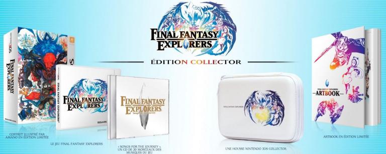Nintendo Direct : Final Fantasy Explorers dévoile sa collector