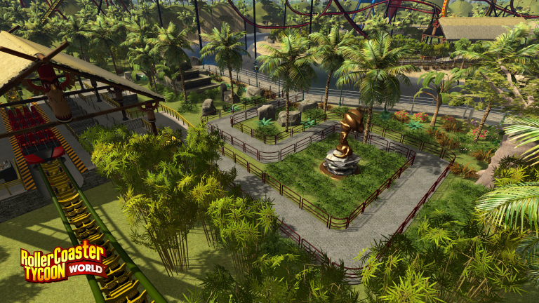 Rollercoaster Tycoon World repoussé