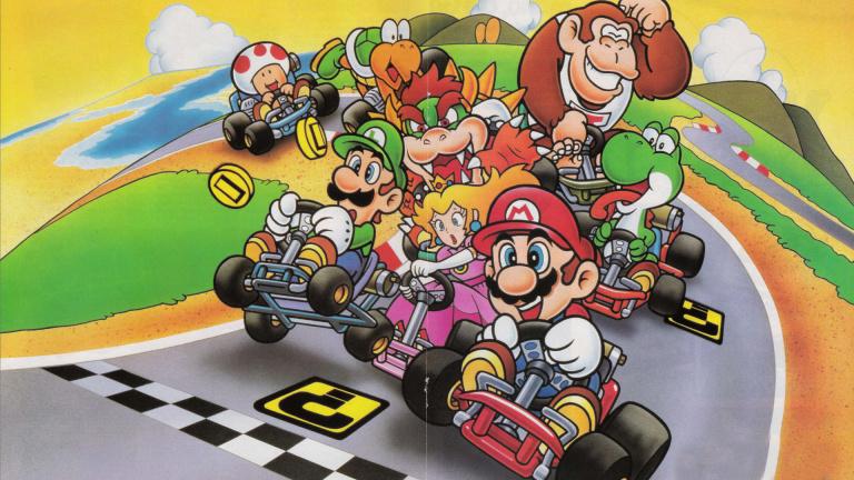 Super Mario Kart en live de 18h à 22h ce soir avec Anagund
