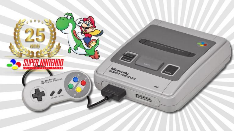 A 14h : On fête les 25 ans de la Super Nintendo en live avec Anagund