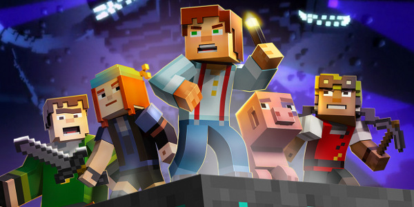 Minecraft Story Mode épisode 3, au coeur de l'action (Spoil)