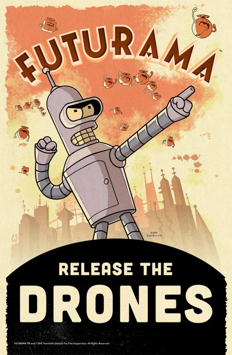 Futurama revient sur mobiles