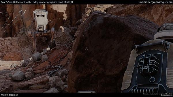 Star Wars Battlefront : un mod photo-réaliste en développement