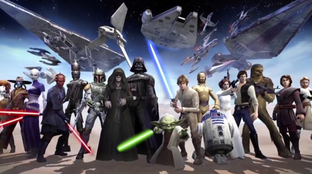 Le jeu de carte Star Wars disponible dès aujourd'hui sur mobiles