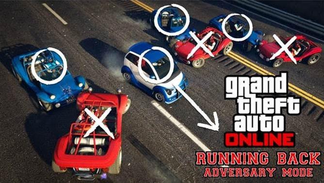 """GTA Online : un mode """"foot US"""" en voiture"""