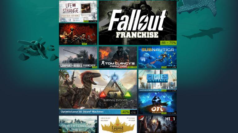 Steam lance de nouvelles promotions jusqu'au 1er décembre